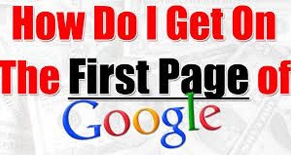 Googlefirstpage