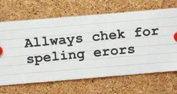 SpellingErrors